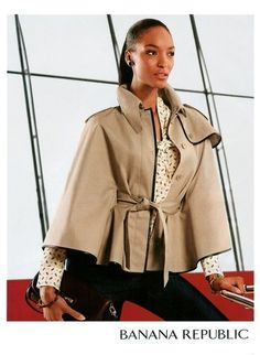 Fall 2012- Trench cape