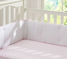 Chevron Stripe Crib Sheeting #pbkids