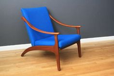 Danish Modern Lounge Chair | From a unique collection of antique and modern lounge chairs at http://www.1stdibs.com/furniture/seating/lounge-chairs/