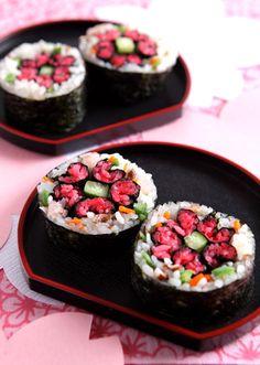 Sushi Flower Art