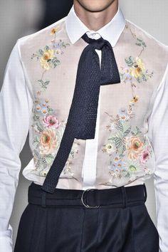 Detalles: João Pimenta Fall/Winter 2016/17 - Male Fashion Trends