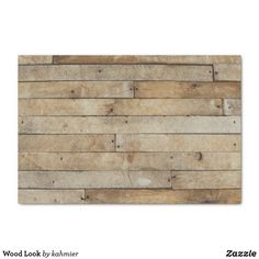 Shop Wood Look Serving Tray created by kahmier. Decoupage Tissue Paper, Custom Tissue Paper, Diy Paper, Creative Gift Wrapping, Creative Gifts, Wrapping Ideas, Natural Wood Finish, Organizing Your Home, Wood Design