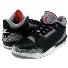 competitive price 7990b a7782 The Air Jordan 3 in black cement. Never had these as a kid.