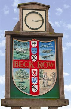 """We lived in Beck Row (just off base) """"on the economy"""" for the 1st year we lived in England."""
