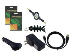 iShoppingdeals - USB CAR+WALL CHARGER ADAPTER+USB CABLE+3.5MM AUDION CABLE+SCREEN PROTECTOR+FISHBONE KEYCHAIN FOR AMAZON KINDLE 3 3RD GEN 3G+WIFI by iShoppingdeals. $3.99. This Bundle Includes 7 Items (Non OEM): USB Car Charger, USB Travel Charger, USB Data Cable, 3.5mm Audio Cable, 2 Screen Protectors, Fishbone Keychain