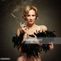 lingerie-female cigarette holder - Google Search