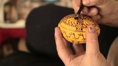 video from National Geographic: Incredible Egg Art Will Awe You . Romanian artists talks about her art as she creates a decorated egg using beeswax and dies . Incredible Eggs, Amazing, Awesome, Ukrainian Easter Eggs, Ukrainian Art, Egg Dye, Easter Traditions, Egg Decorating, Traditional Design