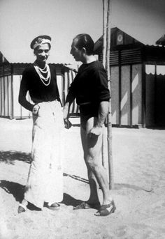 Grand Duke Dmitri Pavlovich Romanov of Russia with CoCo Chanel.A♥W