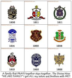 Kappa Alpha Psi Fraternity, Omega Psi Phi, Alpha Kappa Alpha Sorority, Zeta Phi Beta, Delta Sigma Theta, Black Fraternities, Divine Nine, Greek Gifts, Aka Sorority