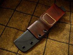 Leather belt loop