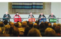 Opposition candidates target 'lacklustre' Tory reign in Calgary-Elbow forum #yycelbow #ableg