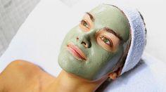 argila verde mascara facial texto