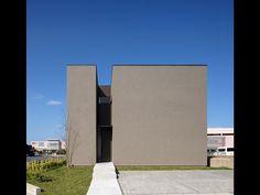 ケイハウス | 松山建築設計室 | 医院・クリニック・病院の設計、産科婦人科の設計、住宅の設計 Minimal Architecture, Architecture Images, Japanese Architecture, Architecture Details, Archi Design, Architect Design, Exterior Design, Interior And Exterior, House Of The Rising Sun
