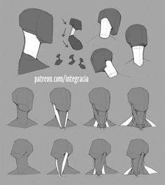 Body Reference Drawing, Drawing Reference Poses, Anatomy Reference, Drawing Poses, Drawing Tips, Neck Drawing, Sketching Tips, Human Anatomy Drawing, Head Anatomy