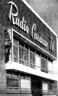Sede de Radio Caracas TV Caracas.La primera Tv de América latina