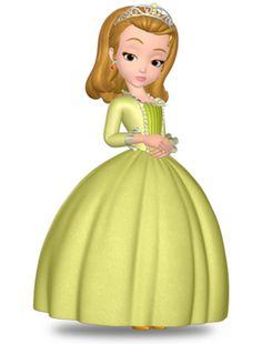 Personajes de princesa Sofia para imprimir