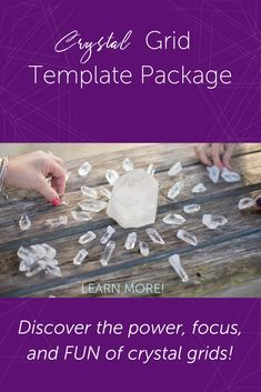 Have you tried The Secret, visualizations & similar exercises but just can't get the focus or the right mojo going for you?  This Crystal Grids Templates Package will give you the precise direction you need. Included 12 Specific Templates ready for immediate download! That means, like, right now. Download, print it (or not) & go.