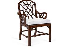 Ralph Lauren Home Middlesex Latticeback Arm Chair on OneKingsLane.com  --  2,040.00 ret / 629.00 OKL.