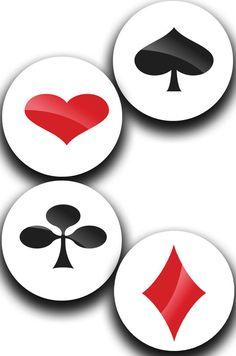 Special Offer!! A Pack of 4 Playing Card Pattern Weights Like the TV Sewing Bee #ricemetalscreationscouk