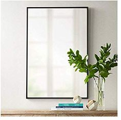 Looking for Uttermost Andrew Black 24 x 36 Rectangular Mirror ? Check out our picks for the Uttermost Andrew Black 24 x 36 Rectangular Mirror from the popular stores - all in one. Mirror Lamp, Metal Mirror, Wall Mounted Mirror, Black Mirror, Wall Mirror, Decor Interior Design, Interior Decorating, Beautiful Mirrors, Beautiful Bathrooms