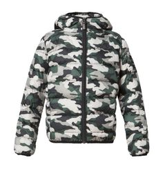ECOALF - aspen ultra light down jacket kids camouflage
