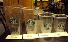 All you need to know about Starbucks' iced teas and iced tea lemonades. This guide was written by a Starbucks barista! Starbucks Cup Sizes, Healthy Starbucks Drinks, Starbucks Recipes, Starbucks Coffee, Coffee Cafe, Coffee Recipes, Coffee Truck, Yummy Drinks, Coffee Shop