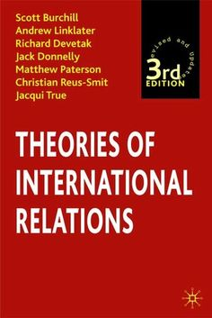 Goldstein 10th edition international pdf relations