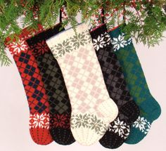 Hey, I found this really awesome Etsy listing at https://www.etsy.com/listing/211665915/hand-knit-christmas-stocking-christmas
