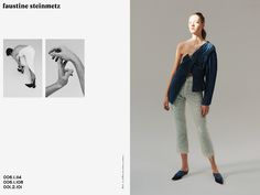 """skt4ng: """" Faustine Steinmetz SS 2016 Campaign by Arnaud Lajeunie """""""