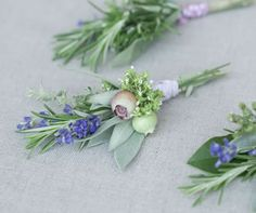 Very natural corsages