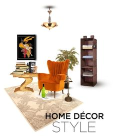"""""""Decor Style"""" by ioakleaf ❤ liked on Polyvore featuring interior, interiors, interior design, home, home decor, interior decorating and Waverly"""