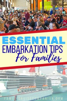 Starting with your first day boarding your cruise, make sure that you set your family up to have the most fun vacation possible. Save time, money and aggravation. Your cruise will be smooth sailing if you plan ahead with these 18 simple tips and hacks. Packing List For Cruise, Cruise Travel, Cruise Vacation, Disney Travel, Cruise Excursions, Cruise Destinations, Best Cruises For Couples, Carnival Cruise Tips, Family Friendly Cruises