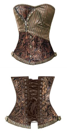 Helloween costumes sexy corsets and bustiers steampunk corset brocade waist  cincher gothic corselet evening dress size d8700c9c8