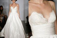 Loving the lace bodice #usedweddingdress avail. on Hustle Your Bustle