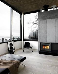 'Minimal Interior Design Inspiration' is a biweekly showcase of some of the most perfectly minimal interior design examples that we've found around the web - Interior Architecture, Interior And Exterior, Building Architecture, Kitchen Interior, Scandinavian Interior Design, Contemporary Interior, Scandinavian Style, Design Case, Style At Home