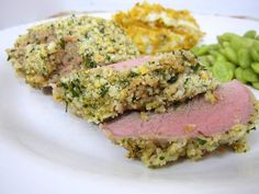 crusted pork tenderloin