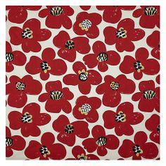 Buy John Lewis Anika Flower Fabric Online at johnlewis.com