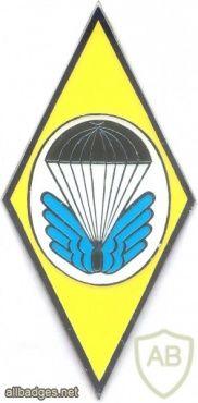 CZECH REPUBLIC 22nd Airborne Brigade, 72nd Parachute (Training) Battalion badge
