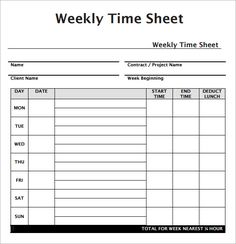 Elegant Time Sheet Templates 39 Timesheet Templates Free Sample Example Format Free,  39 Timesheet Templates Free Sample Example Format Free, Timesheet Template  Free ... For Free Printable Timesheet Template