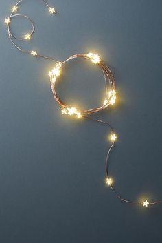 Aurora Star String Lights - Anthropologie