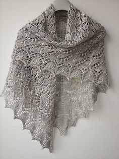 Ravelry: Swallowtail Shawl pattern by Evelyn A. Clark