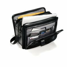 Shop Samsonite Business Briefcase Black at Best Buy. Find low everyday prices and buy online for delivery or in-store pick-up. Business Briefcase, Laptop Briefcase, Leather Briefcase, Leather Bags, Travel Items, Travel Bags, Classic Leather, Black Leather, Samsonite Luggage