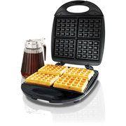 GE 4 Square Chrome Waffle Maker