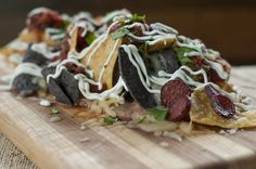 Ethan Stowell's Sanchicha Nachos. Available at Flying Turtle Cantina (located in The 'Pen).
