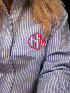 Miss Polite: A little bit of monogram in my life...