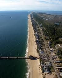 Nags Head, NC.  My favorite beach in the world.  Because of Nags Head, I have no real need or desire to go to some far off tropical so-called paradise...This IS paradise!
