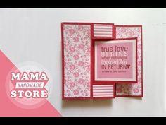 Swing Card Tutorial | Flip Card | How to make card | Scrapbook - YouTube