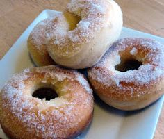 The Merlin Menu: Baked Yeast Donuts