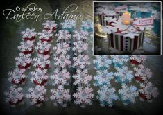 Snowflake Tea Lights for my Peeps!! by darleenstamps - Cards and Paper Crafts at Splitcoaststampers