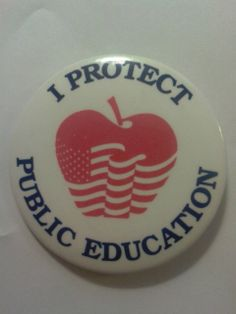 I protect public education pin. Make it your profile pic.